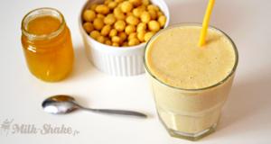 milk-shake miel-pops